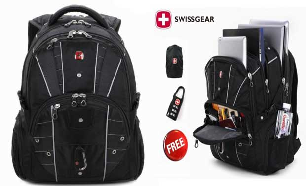 2015 Hot Waterproof Swiss Gear Multifunctional 15 inch Laptop Backpack