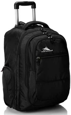 High Sierra Rev Wheeled Backpack