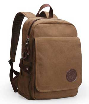 IBSound Vintage Canvas Laptop Backpack