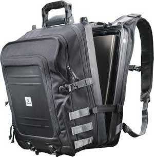 Pelican U100 Black Elite Storage Backpack for Laptop