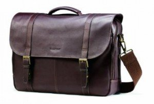 Samsonite Colombian Leather Flapover Case 1