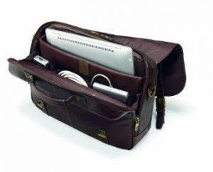 Samsonite Colombian Leather Flapover Case 2