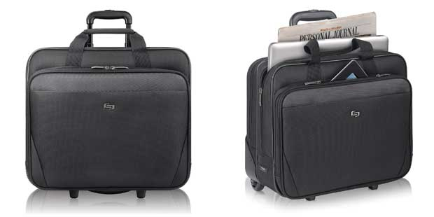 "Solo 17.3"" Laptop Rolling Case"