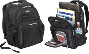 Targus Checkpoint-Friendly Air Traveler Backpack for 16-Inch Laptop (TBB012US)