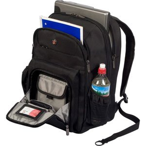 Targus Checkpoint-Friendly Corporate Traveler Backpack for 15.4 Inch Laptops CUCT02B