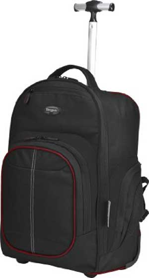 Targus Compact Rolling Backpack for Laptops