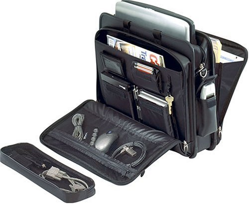 Targus Deluxe Top-Loading Leather Case