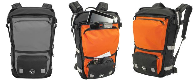Velo Men's Transit The Edge 30 Waterproof Messenger Bicycle Backpack