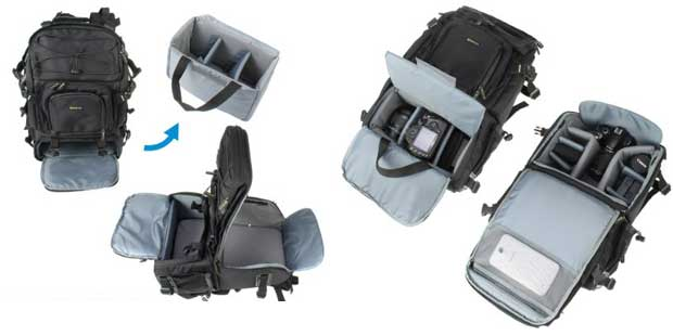 Evecase Extra Large Camera Backpack