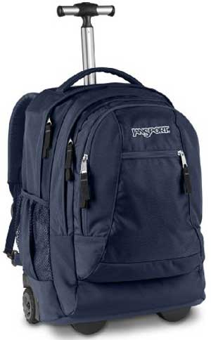 JanSport Driver 8 Roller Bag - Best Rolling Laptop Backpack