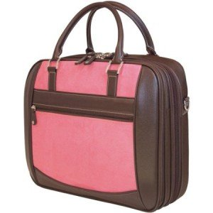 Mobile Edge ScanFast Checkpoint Friendly Women Element Laptop Bag- 16-Inch PC 17-Inch Mac (Pink)