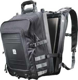 Pelican U100 Black Elite Storage Backpack for Laptop