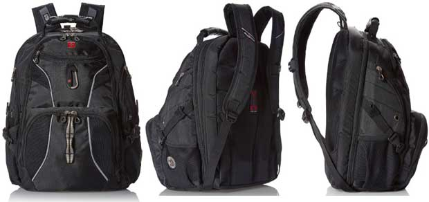 SwissGear ScanSmart Laptop Computer Backpack SA1923