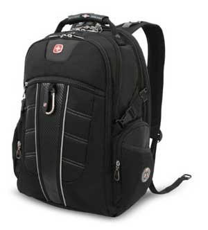 SwissGear TSA Backpack for 17-Inch Laptop with Accessory Pockets (SA1753)