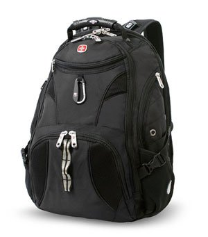 SwissGear Travel Gear ScanSmart Backpack 1900 - Best Travel Laptop Backpack