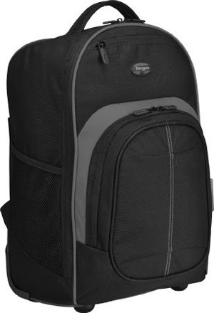 Targus Compact Rolling Backpack for 16 inch laptop