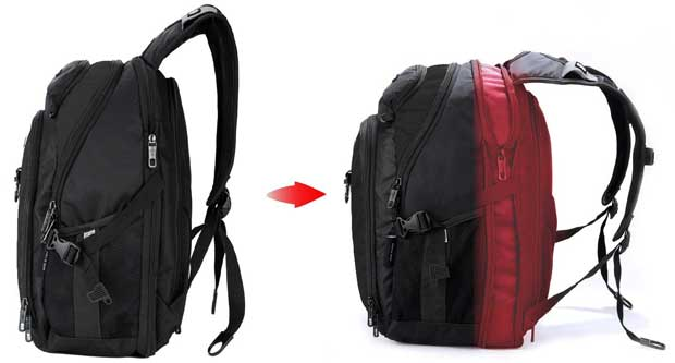 Victoriatourist V6020 Laptop Backpack with large packing capacity