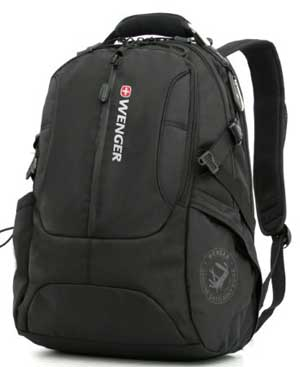 Wenger Backpack by SwissGear with padded sleeve for laptops SA15371 Review